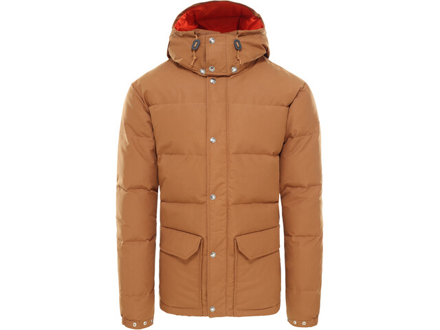 The North Face Sierra Chaqueta de plumas Hombre, cedar brown/papaya orange
